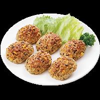 5種の国産お野菜ハンバーグ