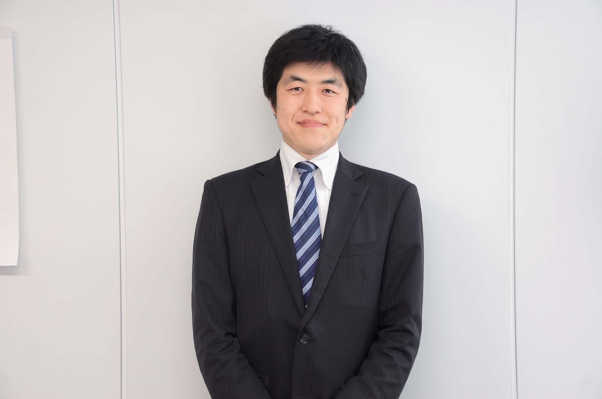 マスコー製紙株式会社 営業部 阿部太郎さん(取材当時)