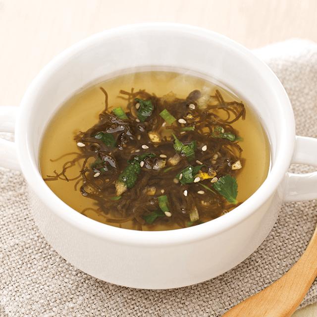産直もずくのスープ