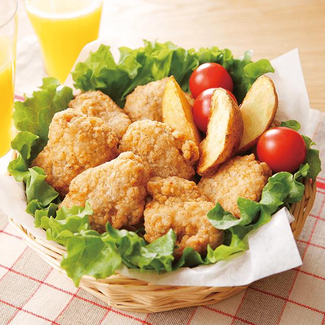 までっこ鶏唐揚にんにくパンチ