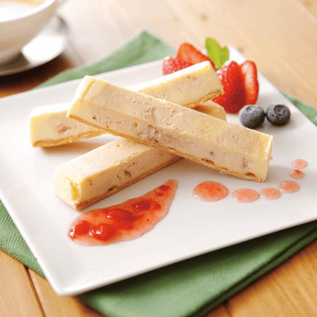 栃木県産とちおとめのチーズケーキ