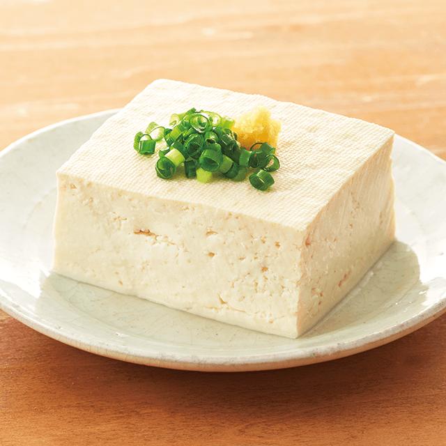 産直大豆のもめん豆腐