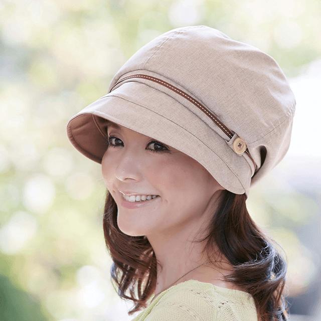 洗えて・快適 UVカット 帽子シリーズ