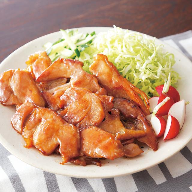 産直鶏モモ照焼用スライス(味付)