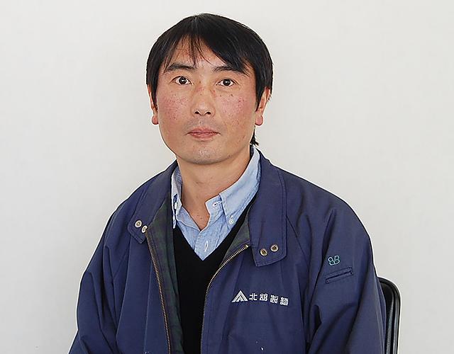 (株)北舘製麺 北舘大輔さん