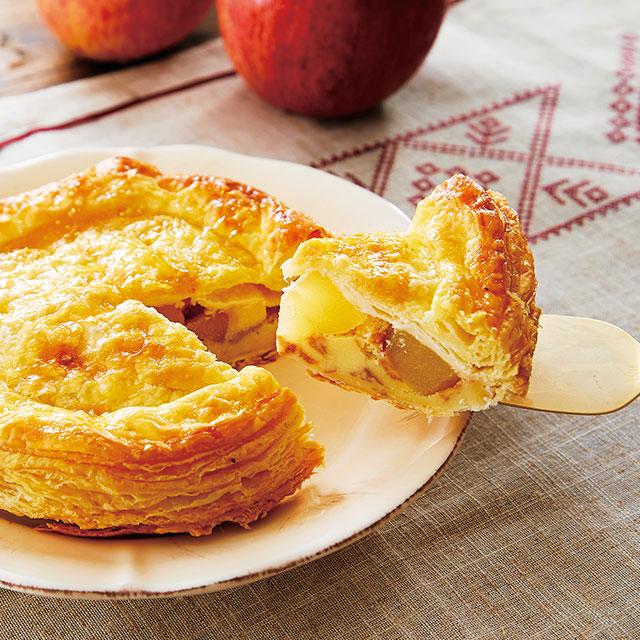 産直りんごのアップルパイ