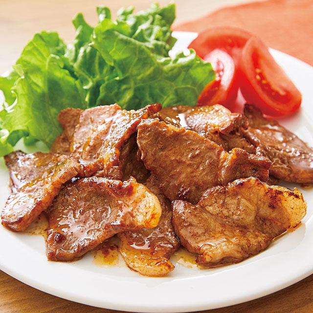 産直豚やわらカタロース甘ピリ醤油味