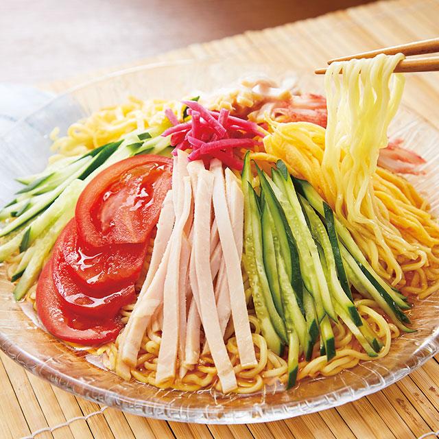 冷し中華(しょうゆ・北海道産小麦使用)